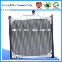 Howo camión de aluminio de núcleo radiador WG9120530508