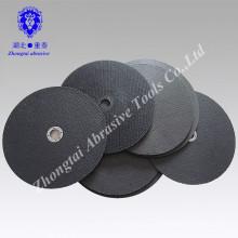 Rodas de corte reforçado com resina plana para metal