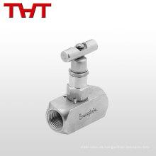 """Válvula de aguja del instrumento de control hidráulico de baja presión de 1/8 """"- 2"""""""