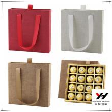 Merry Christmas bulk sale fine foldable custom chocolate boxes