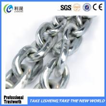 Cadena de enlace de soldadura chapada en zinc