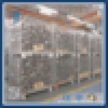 Entrepôt lourd Cage de stockage en métal pliable