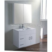 Mobiliário de banheiro novo MDF Bacia de vidro móveis antigos