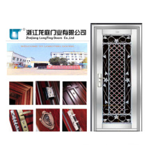 2015 New Design Single Stainless Security Door for House