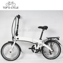 TOP bicicleta elétrica 250 W roda do motor do motor verde bicicleta de dobramento elétrico