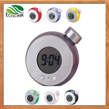 Eco-Friendly Water Power Digital LCD Clock