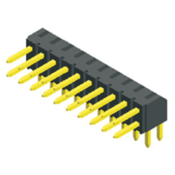 2.00mm Pitch Dual Row Angle Type H: 4.0 Connectors