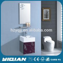 Petite taille Vanity Vabinet Wall Hanging Bathroom Cabinet en acier inoxydable