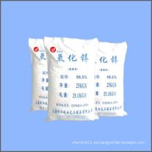 Contenido de alta pureza 99,5% de óxido de zinc mínimo