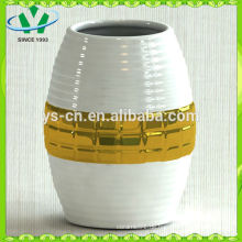 Electroplate Modern Style Gild Keramik Vase Für Wohnkultur