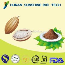 Additifs alimentaires poudre de graines de cacao de matière première au chocolat
