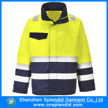Custom Logo Safety Work Uniform Jackets Construction Clothing