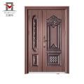 Alibaba novo tipo de portas interior mais recente projeto villa cobre porta