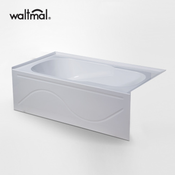 60 Inch Best Deep Alcove Tub Soaking