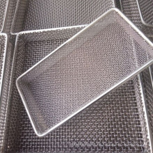 Heat Resistant AISI 330 Stainless Steel Wire Mesh Storage Basket