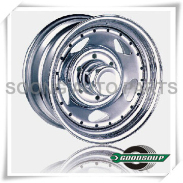 """5 Star-Beadlock Wheels GS-504 Steel Wheel from 15"""" to 17"""" with different PCD, Offset and Vent hole"""