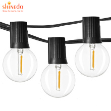 Power LED Ball Garland Lights Fairy String Waterproof Outdoor Lamp Christmas Holiday Wedding Party Holiday Lights