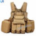 Chaleco táctico antibalas táctico ligero militar Chaleco suave de la armadura del cuerpo