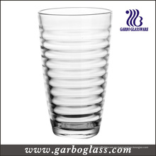 Diseño espiral vaso de vidrio de agua 16 oz (GB03448516)