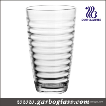 Spiral Design 16oz Water Glass Tumbler (GB03448516)