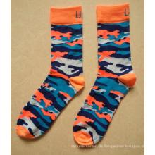 2015 Fashion Camouflage Farbe Baumwolle Army Socken