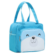 insulated lunch bag for reusable lunch tote box leakproof cooler handle bag for kid school picnic beach