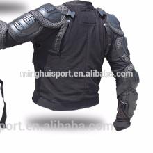 Motocross body armour clothes extraíble armadura trasera conveniente limpieza chaqueta de la motocicleta