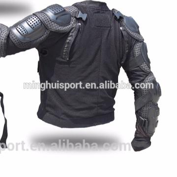 Vestuário de armadura de motocross removível armadura traseira conveniente limpeza jaqueta de motocicleta