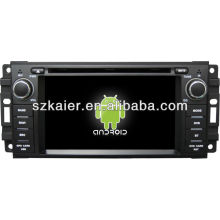 Android System car dvd player for Dodge with GPS,Bluetooth,3G,ipod,Games,Dual Zone,Steering Wheel Control