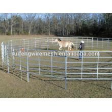 Clôture de bétail pour vache, clôture de bétail à grande vitesse