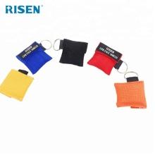 Wholesale Mini Training CPR Mask Keychain kit