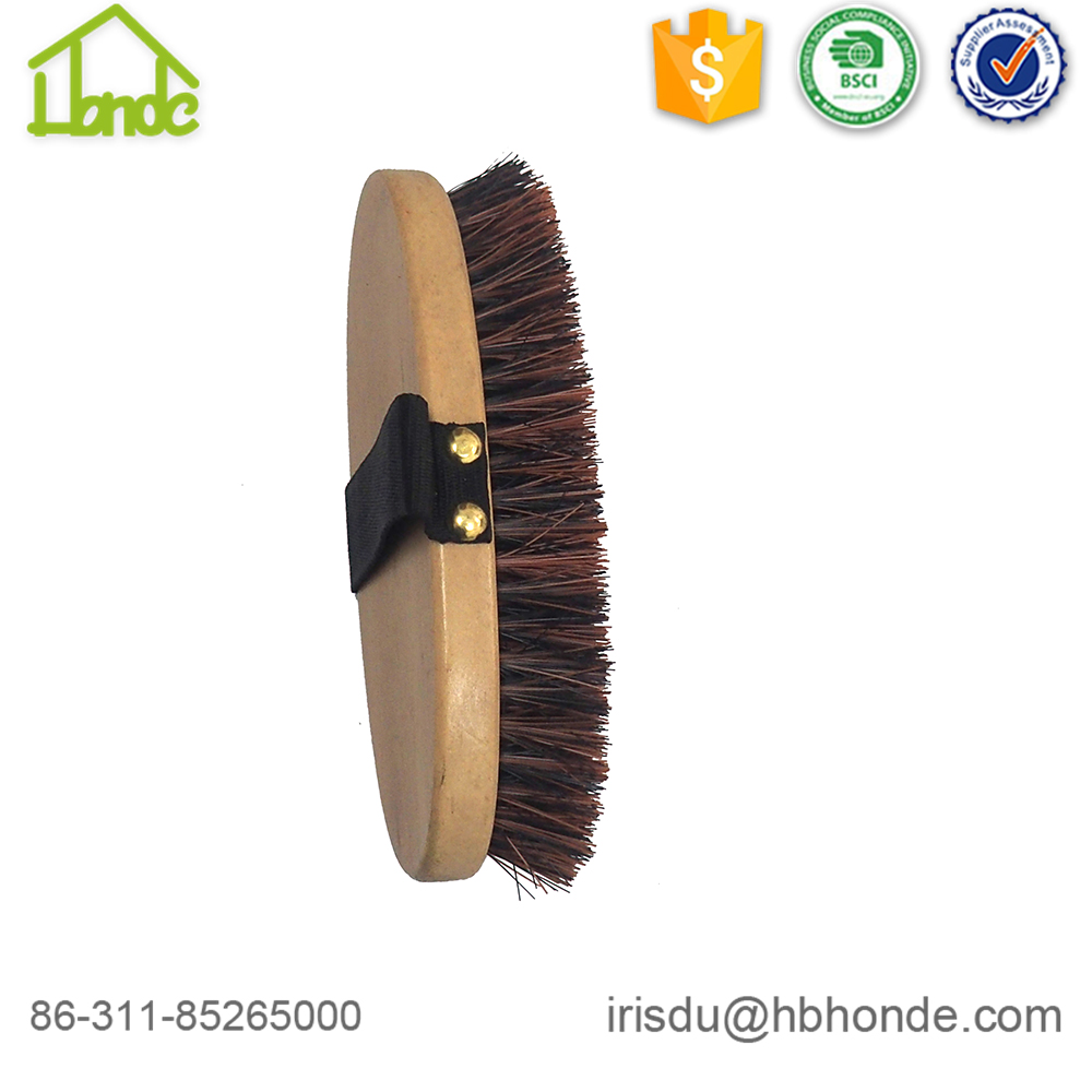 wooden horse brush