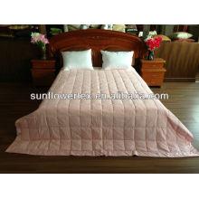 Microfibra macia super para baixo cobertor cor-de-rosa