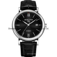 Automatische Edelstahl Herren Armbanduhr