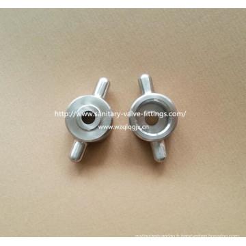 Ferrures spéciales en acier inoxydable sanitaire Pièces de pompe