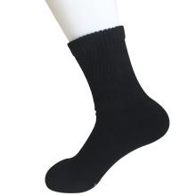 Половина подушки Sorbtek Coolmax Диабетическая здравоохранения Медицинские черные четвертинки носки (JMDB06)