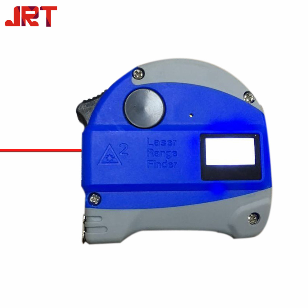 JRT 2018 laser rangefnder 30m tape measure with lithium battery