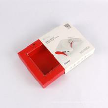 Boîte d'emballage sans fil d'écouteur de casque de produit petit fait sur commande à vendre