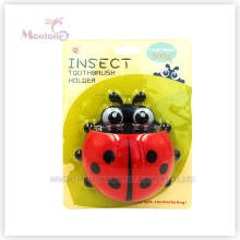 Ladybug Shape Toothbrush Holder