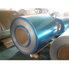 Mirror Polishing Finish Aluminum Sheet, Aluminum Film For Lamp Factory 600-2100mm Width