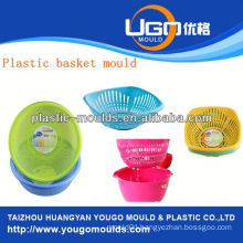 plastic carry basket moulding supplier injection basket mould in taizhou zhejiang china