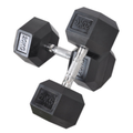 Hantle Hexagon Steel i Plastic Dumbbell
