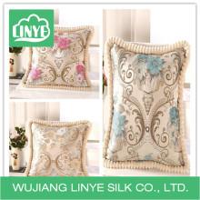 Cojines de sofá de algodón de estilo chino
