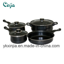 Kitchenware 7PCS Carbon Steel Wal-Mart Cookware Set