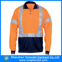 Shenzhen Working Garment Long Sleeve Safety Reflective Work Uniform