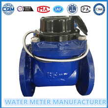 Dn65mm Iron/Stainless Steel Material Flange Woltman Water Meter