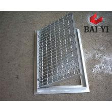Grille de drainage en acier inoxydable