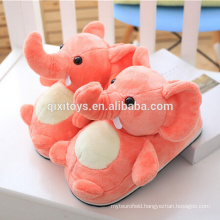 Hot Sale Animal Shape Custom Plush Slippers Wholesale