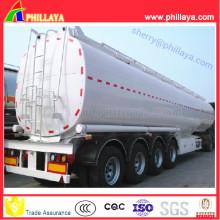 Semi reboque de combustível / óleo / Diesel / tanque de transporte de água