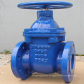 ductile iron gate valve with spindle extension long stem gate valve pn16 ggg50